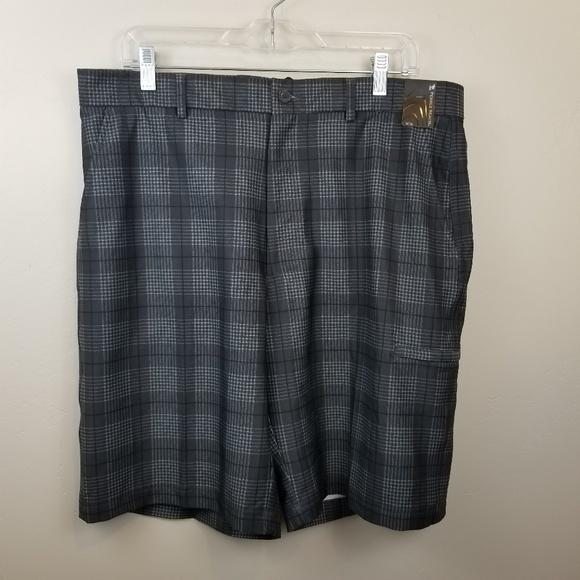 b3cdf57bb5 Pebble Beach Shorts | Nwt Lightweight Plaid Golf | Poshmark